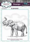 CE Rubber Stamp by Andy Skinner - Elephant - CEASRS018